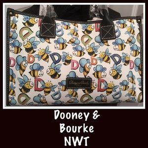 Dooney & Bourke Bumblebee Small Tote - NWT